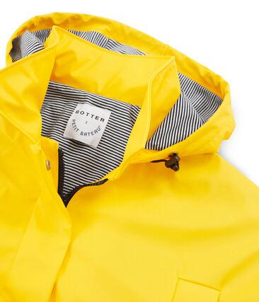 Parka gelb Shine / weiss Multico