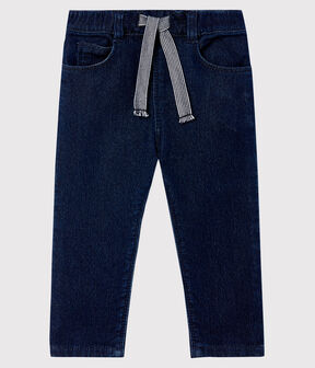 Baby-Hose aus Strick im Denim-Look JEAN