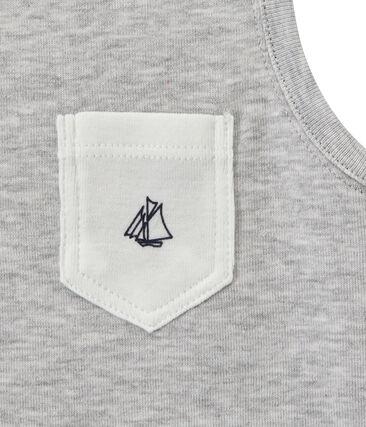 Jungen-Trägerhemd mit Brusttasche