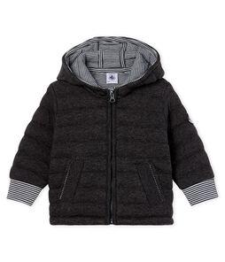 Baby-Jacke aus gestepptem Doppeljersey mit Reißverschluss für Jungen