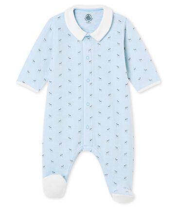 Baby Jungen Strampler aus gedoppeltem Jersey mit Print
