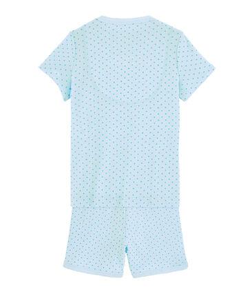 Kurz-Pyjama aus Rippstrick für kleine Mädchen null