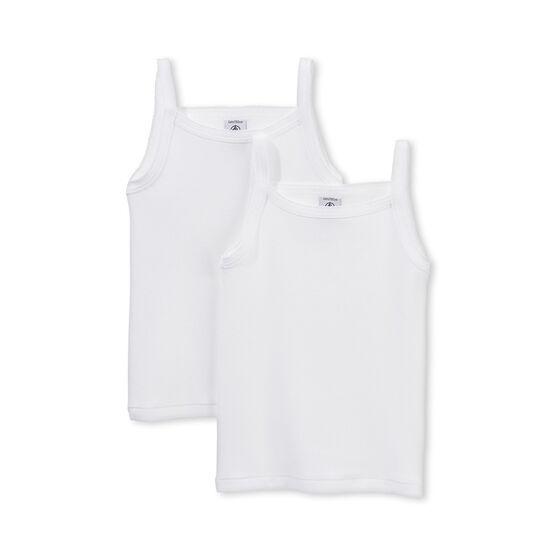 2er-Set Trägerhemden für Mädchen lot .