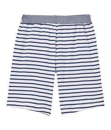 Gestreifte Jungen-Shorts