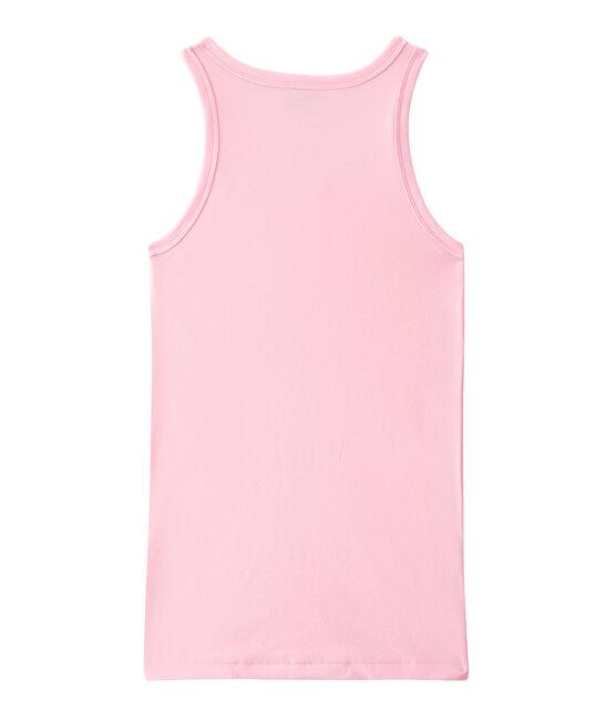 Damen-Top aus Original-Rippstrick rosa Babylone