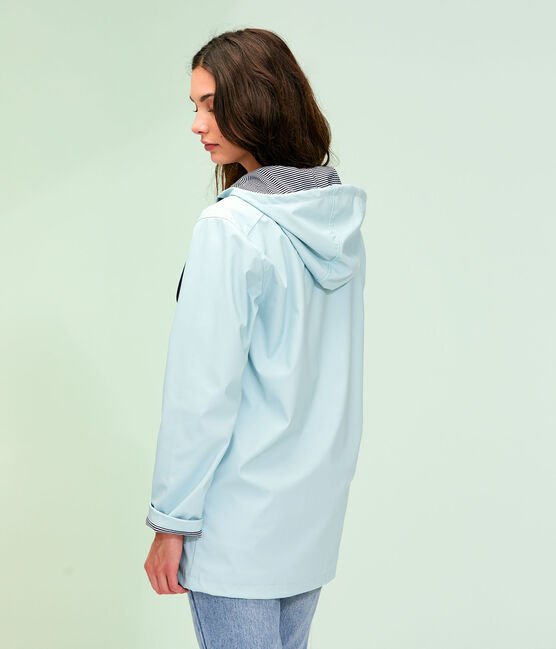 Ikonische Regenjacke Unisex blau Crystal