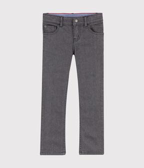 Kinder-Jeanshose für Jungen GRIS MOYEN