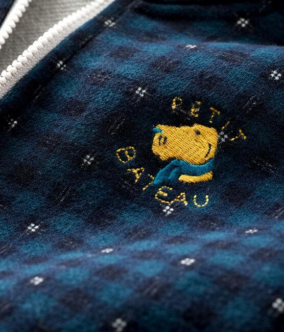 Baby-Kapuzensweatshirt für Jungen SHADOW/MULTICO