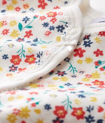 Baby-Strampler ohne Fuß aus Rippstrick für Mädchen