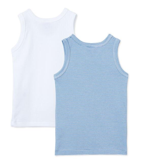 Jungen-Unterhemden im 2er-Set lot .