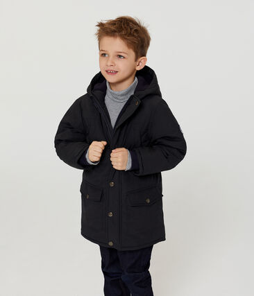 Daunenjacke mit Daunen- und Federfüllung für Jungen grau Capecod