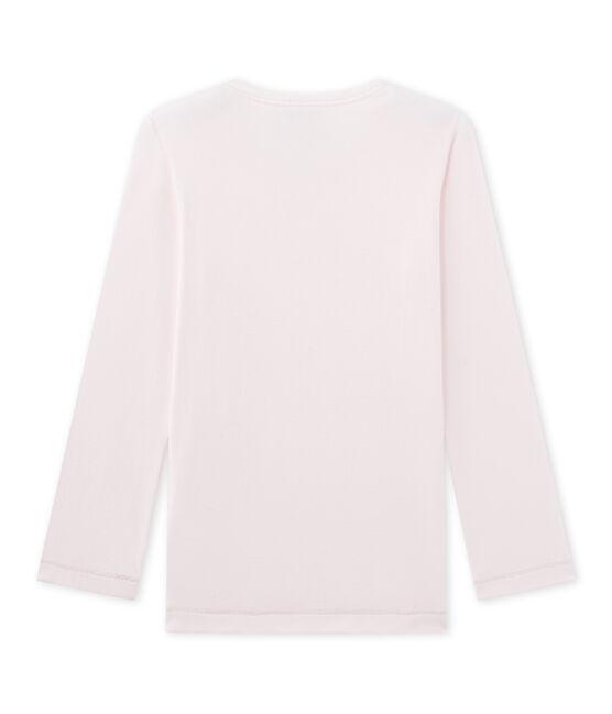 Mädchen-Schlafanzug-Oberteil Mix & Match rosa Vienne