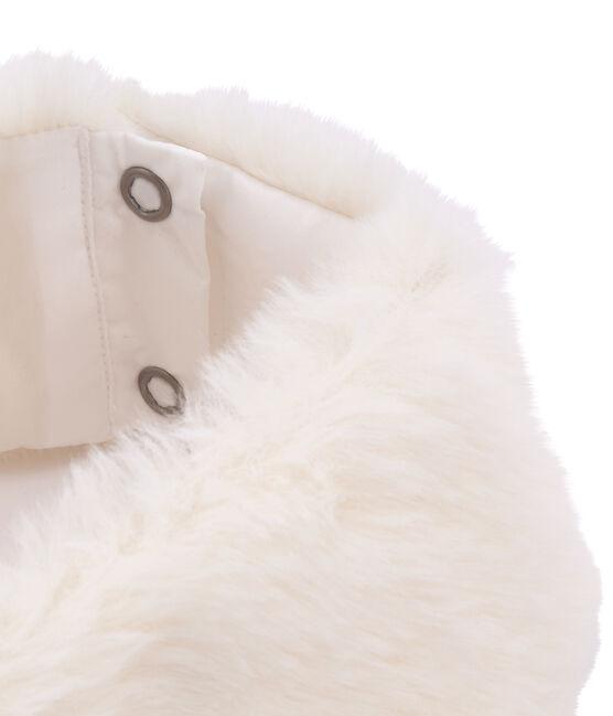 Kragen und Stulpen für Mädchen im Set weiss Marshmallow