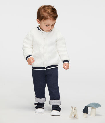 Baby-Hose aus Molton für Jungen