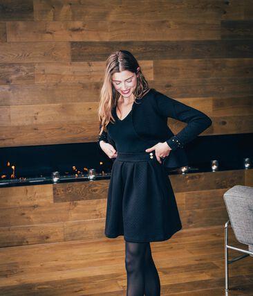 Damenrock schwarz Noir