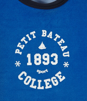 Jungen-Schlafanzug aus Nicki mit College-Motiv