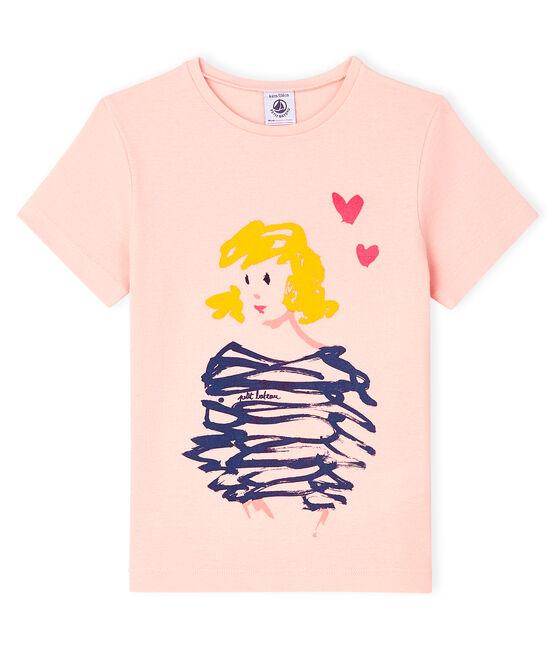 Kurzärmliges T-Shirt für Mädchen MINOIS