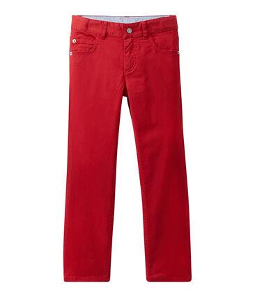 Farbige Jungen-Jeans