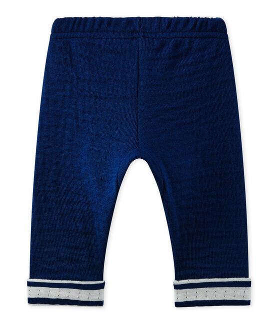 Baby-Jungen-Hose blau Medieval
