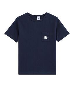 Kinder-T-Shirt für Jungen blau Smoking