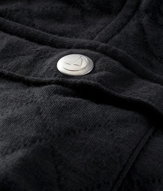 Gesteppte Baby Jungen Hose aus gedoppeltem Jersey grau Capecod
