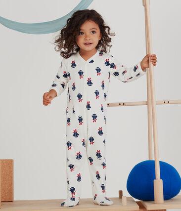 Baby-Strampler aus Molton für Mädchen