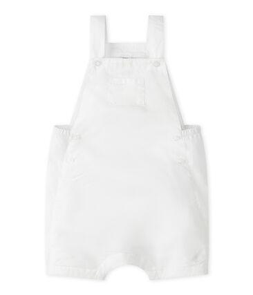 Baby-Kurzlatzhose aus Leinen für Jungen.