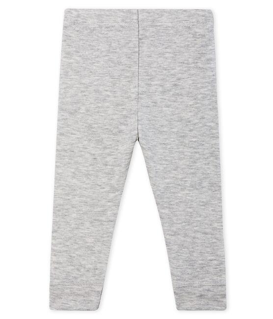 Baby-Legging Mädchen grau Beluga