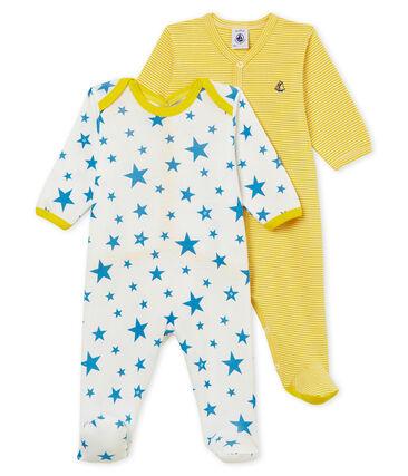 Duo Baby-Strampler aus Rippstrick, Unisex