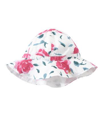 Bedruckter Mädchen-Hut aus Popeline