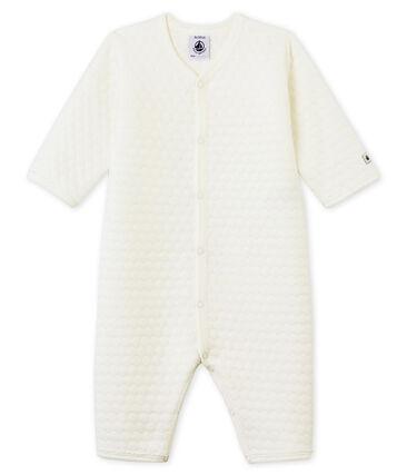 Unisex Baby Strampler ohne Fuß aus gedoppeltem Jersey