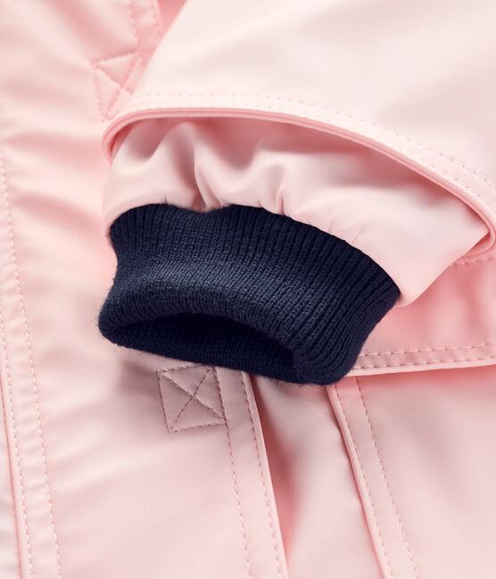 Ikonische Baby-Regenjacke für Mädchen rosa Minois