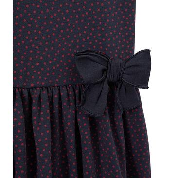 Gepunktetes Mädchen-Kleid