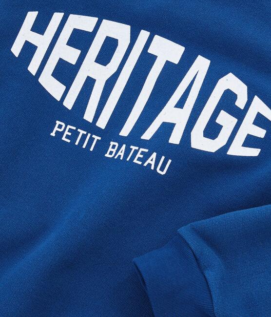 Sweatshirt für Jungen blau Limoges