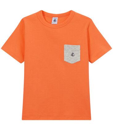 Jungen-T-Shirt mit Brusttasche