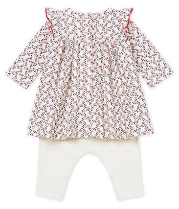 Langärmeliges baby-leggingkleid mädchen