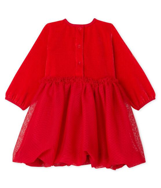 Babykleid für Mädchen rot Terkuit