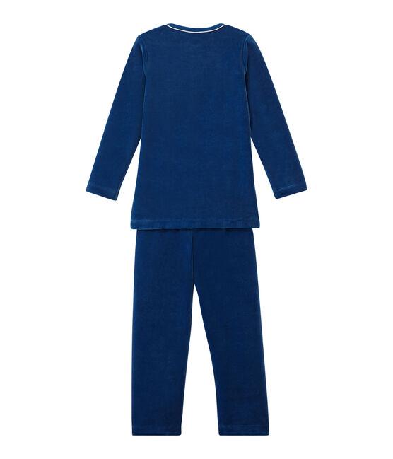 Jungen Schlafanzug blau Limoges