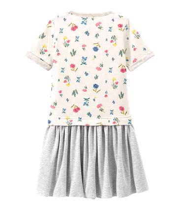 Mädchen-Kleid aus gedoppeltem Jersey