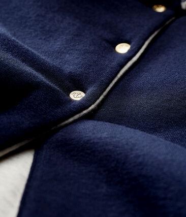 Baby-cape unisex blau Smoking