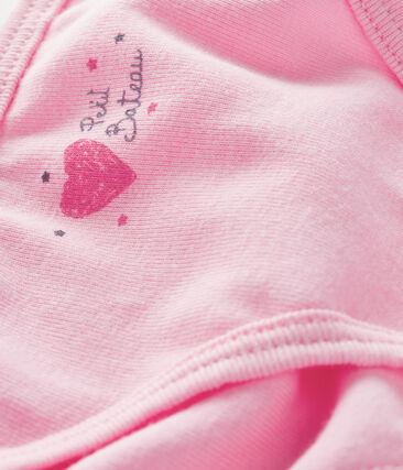 Unterhose für kleine Mädchen rosa Bonbec