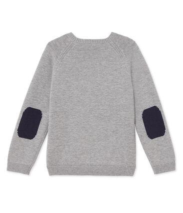 Jungen-Pullover aus Wolle/Baumwolle