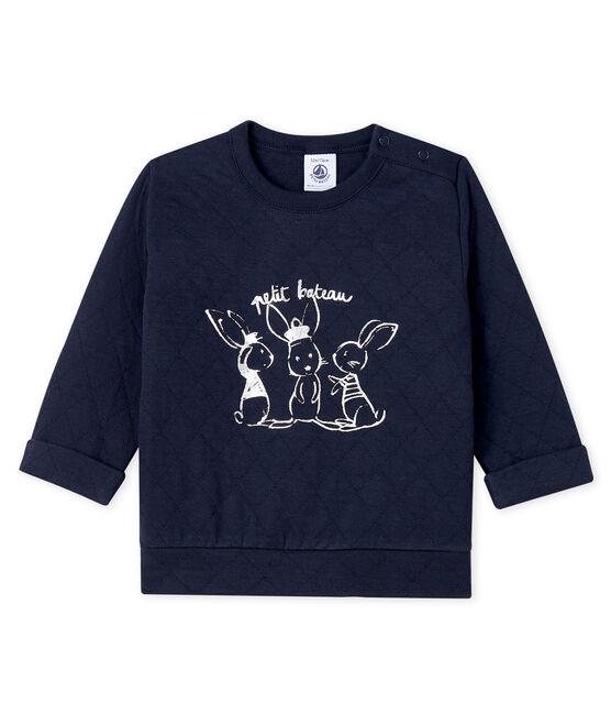 Baby-Sweatshirt aus Doppeljersey für Jungen SMOKING