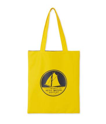 Emblematische Einkaufstasche gelb Jaune