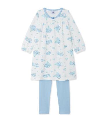 Bedrucktes Nachthemd aus Nicki mit passenden Leggings