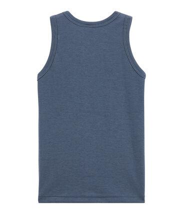 Jungen Unterhemd blau Turquin