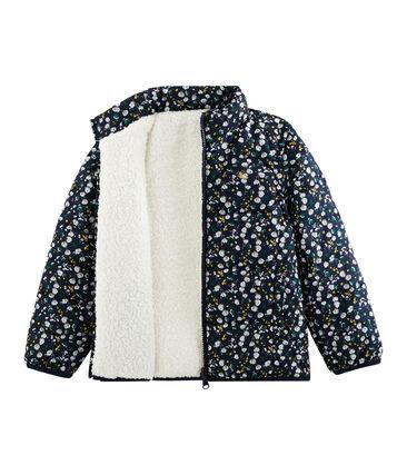 3-in-1 Jacke für Mädchen blau Smoking / weiss Multico