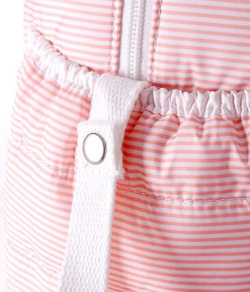 Baby-wickeltasche mit ringelstreifen unisex