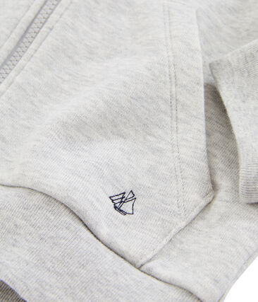 Kinder-Sweatshirt für Jungen grau Gris