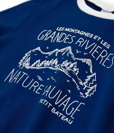 T-Shirt für Jungen blau Limoges